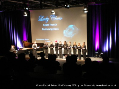 Chaos Recital - The Lady Choir