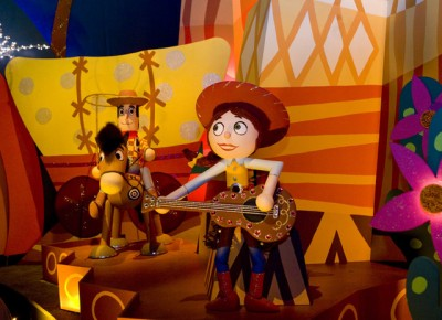 it's a small world - toy story