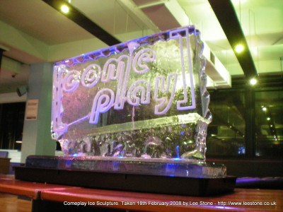 Comeplay Ice Sculpture