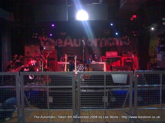 The Automatic Stage Set Up - Elements, Bath University